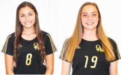 Olympic Heights soccer players Skylar Deutch (left) and Sydney Durrance (right) both hit the impressive 50 career goals scored mark in their senior seasons.
