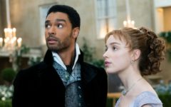 The first season of Netflix's Bridgerton follows the romance of the Duke of Hastings Simon Basset (Rege-Jean Page) and Daphne Bridgerton (Phoebe Dynevor).