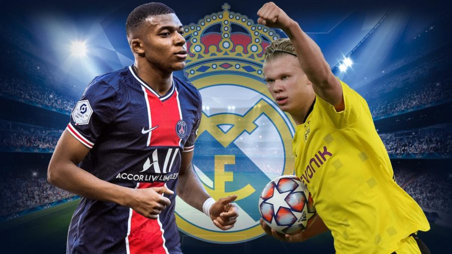 Kylian Mbappe (left) and Erling Haaland (right) are building a soccer rivalry that could equal that of Lionel Messi and Cristiano Ronaldo's.