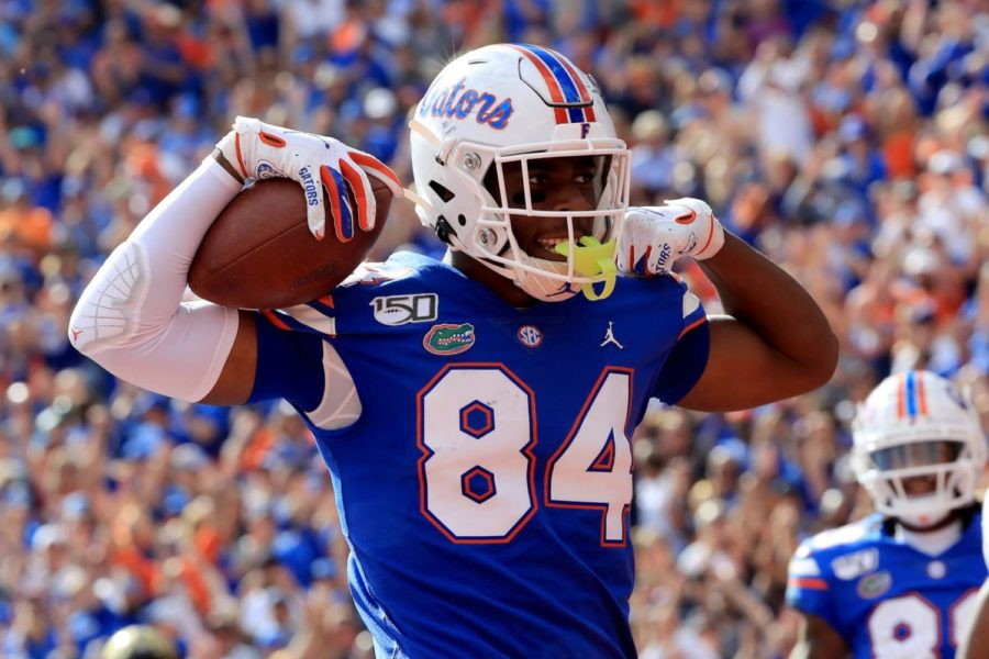 The biggest question of the 2021 NFL draft is where Florida's tight end Kyle Pitts, considered by many to be the best athlete in the draft, will end up. He could go as high as #4 to the Atlanta Falcons or possibly fall out of the top 10.