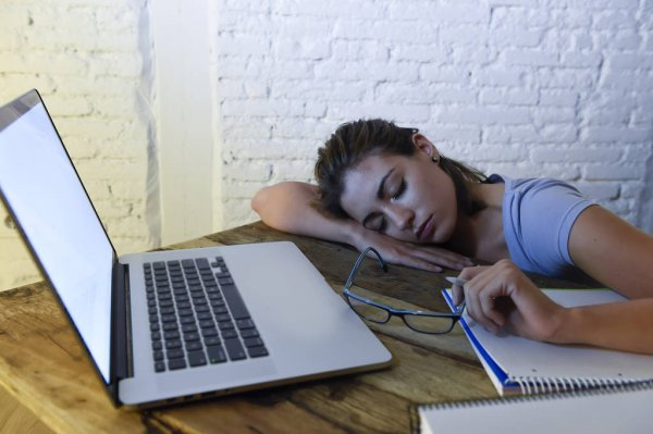 Distance learning taking its toll on students and teachers