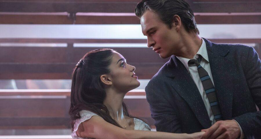 Rachel Zegler (left) plays Maria and Ansel Elgort plays Tony in the Steven Spielberg  remake of West Side Story, scheduled for release in December of 2021.