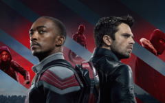 Anthony Mackie (left) and Sebastian Stan are superb in the title roles of The Falcon and the Winter Soldier.