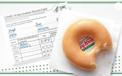 Krispy Kreme lovers can get a free glazed donut by showing their COVID-19 vaccination card.