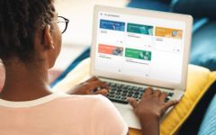 Students adjusting as Google Classroom becomes the norm