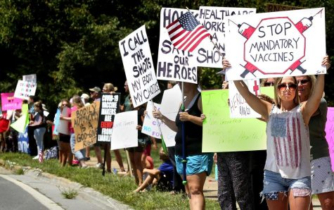 Protests sprung up across the country after President Joes Bidens mandatory COVID-19 vaccination  order.